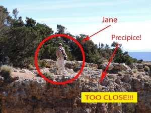 Jane on the edge