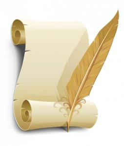 the-old-paper-and-quill-pen-vector-material_15-2179